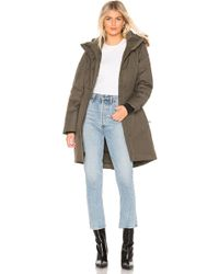 The North Face - Arctic Parka Ii With Faux Fur Trim - Lyst