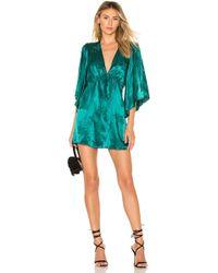 Lovers + Friends - Jimmy Mini Dress In Turquoise - Lyst