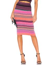 BCBGMAXAZRIA - Striped Knit Pencil Skirt - Lyst