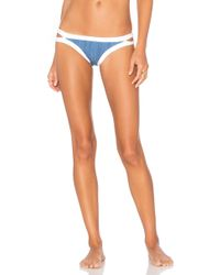 Seafolly - Block Party Brazilian Bikini Bottom - Lyst