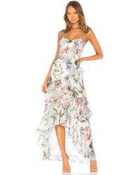 Parker Black - Kimberly Combo Dress - Lyst