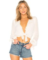 Luv Aj - The Chain Bib Body Chain In Metallic Gold. - Lyst
