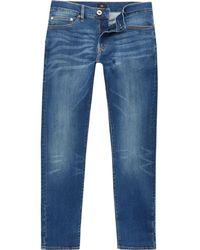 Mens Big and Tall Blue Seth slim fit jeans River Island UBdV3nZ