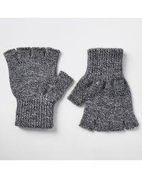 River Island Knit Fingerless Gloves