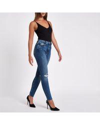 River Island - Ri Original Skinny Jeans - Lyst