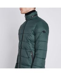 River Island   Green Only & Sons Padded Jacket Green Only & Sons Padded Jacket   Lyst