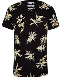 140e2d673428b9 Lyst - Bellfield Inka All Over Print T-shirt in Natural for Men