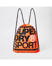 Superdry - Xl Drawstring Sports Bag - Lyst