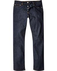River Island - Dark Blue Wash Dylan Slim Fit Jeans - Lyst