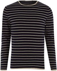 Jack & Jones - Knit Stripe Jumper - Lyst