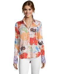 Robert Graham - Priscilla Floral Cot Shirt - Lyst