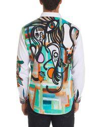 Robert Graham - Limited Edition Dripping Hues Sport Shirt - Lyst