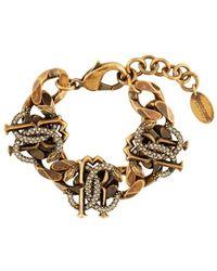 Roberto Cavalli Mirror Snake Bracelet