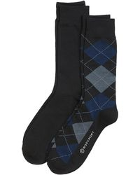 Rockport - Men's Argyle Crew Socks - Lyst