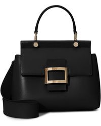 Roger Vivier - Viv' Cabas Mini In Leather - Lyst