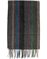 Paul Smith - Ps By College Stripe Wool Scarf - Lyst