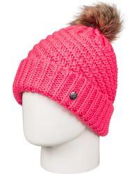 Roxy - Bobble Hat - Lyst