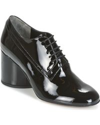 Robert Clergerie - Kiki-verni-noir Low Boots - Lyst