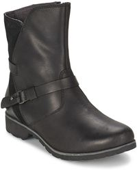 Teva - Delavina Low Leather Mid Boots - Lyst