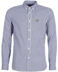 7b7c95d31f4 Lyle   Scott - Fafarlixe Long Sleeved Shirt - Lyst