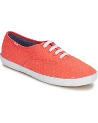 Keds - Champion Eyelet Shoes (trainers) - Lyst