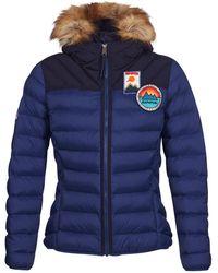 Napapijri - Articage Women's Jacket In Blue - Lyst