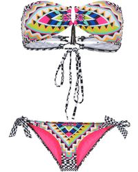 Rip Curl - Cancun Bandeau Set Bikinis - Lyst