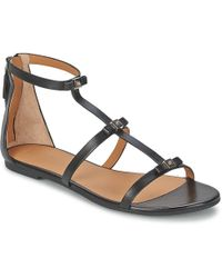 55f5787c57bf0 Marc By Marc Jacobs Easy Breeze Flat Sandals in Brown - Lyst