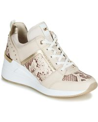 MICHAEL Michael Kors - Georgie Trainer Shoes (trainers) - Lyst