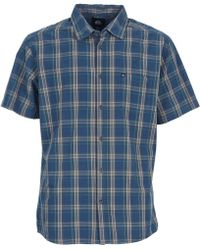 Quiksilver - Everyday Check Ss Short Sleeved Shirt - Lyst