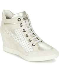 Geox - Eleni C Shoes (high-top Trainers) - Lyst