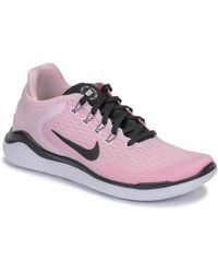 265a18c8c67c Nike Free Rn 2018 W Women s Running Trainers In Pink in Pink - Lyst