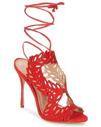16d950b8644 KG by Kurt Geiger Horatio High Heel Sandals in White - Lyst