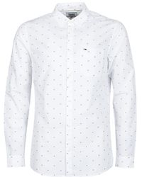 db01c092 Hilfiger Denim Tjm Basic Sln Dobby Shirt L/s 11 Men's Long Sleeved ...