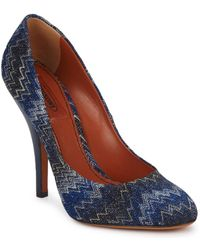 Missoni - Vm005 Court Shoes - Lyst