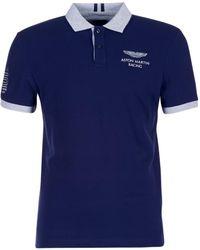 Hackett - Jiguate Men's Polo Shirt In Blue - Lyst