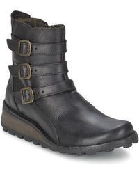 Fly London - Myso Mid Boots - Lyst