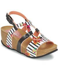 Desigual - Bio 9 Flores Sandals - Lyst