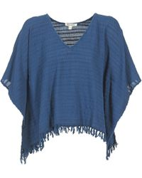 Billabong - Weekend Escape Women's Blouse In Blue - Lyst