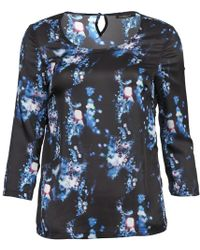 Color Block - Tusca Women's Blouse In Blue - Lyst