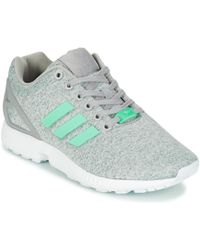 f2cc319e93abf Adidas Gazelle W Women s Shoes (trainers) In Grey in Gray - Lyst
