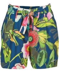 Desigual - Inide Women's Shorts In Multicolour - Lyst