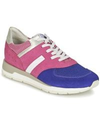 62a2a788605 Geox - Shahira A Women's Shoes (trainers) In Pink - Lyst