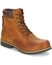 Timberland - Ek Rugged 6 In Plain Toe Boot Mid Boots - Lyst