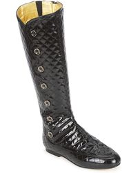 French Sole - Pumpkin High Boots - Lyst