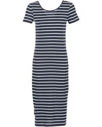ONLY - Abbie Stripe Long Dress - Lyst