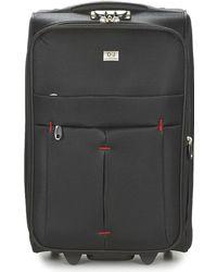 David Jones - Javeska 49l Women's Soft Suitcase In Black - Lyst