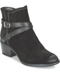 Tamaris | Alaza Low Ankle Boots | Lyst