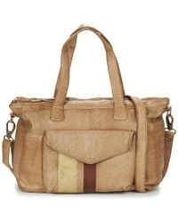 Pieces - Shantay Leather Bag Shoulder Bag - Lyst