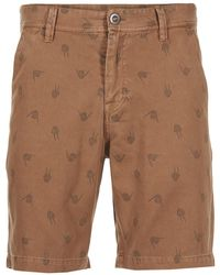 Volcom - Frickin Regular Art Men's Shorts In Brown - Lyst